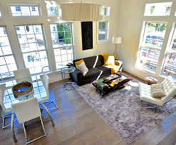 photo of interior of unit at Davis Square Habitat